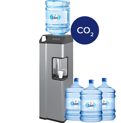 Wasserspender mit Kohlensäure